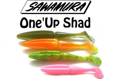 Приманка Sawamura One Up Shad 4""
