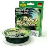 Шнур Power Phantom 120м green